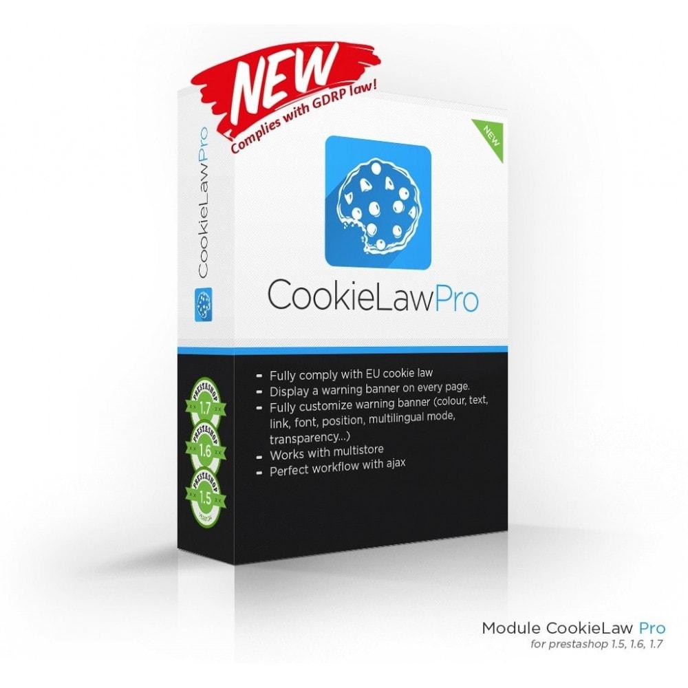module - Législation - European Cookie Law Pro (GDPR compliant) - 1