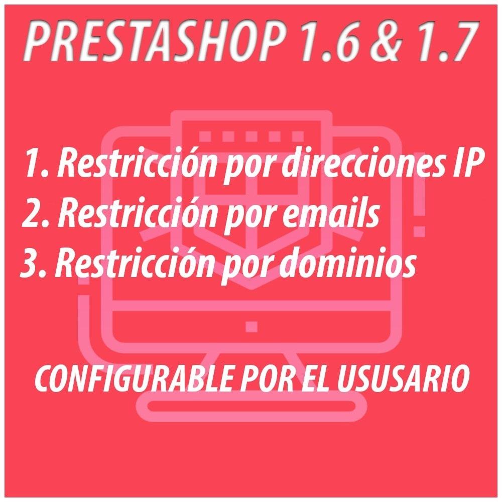 module - Seguridad y Accesos - Anti-spam Protector - 1