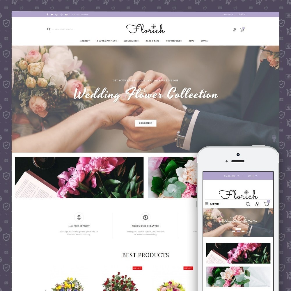 theme - Regali, Fiori & Feste - Florich - Wedding Flowers Store - 1