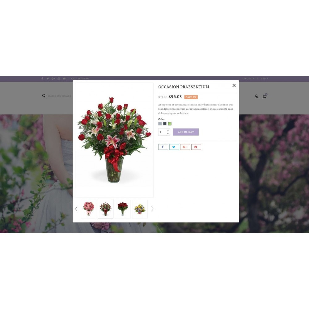 theme - Regali, Fiori & Feste - Florich - Wedding Flowers Store - 7