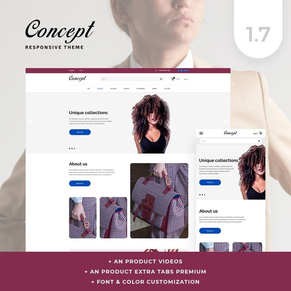 theme - Moda & Calzature - Concept Fashion Store - 1