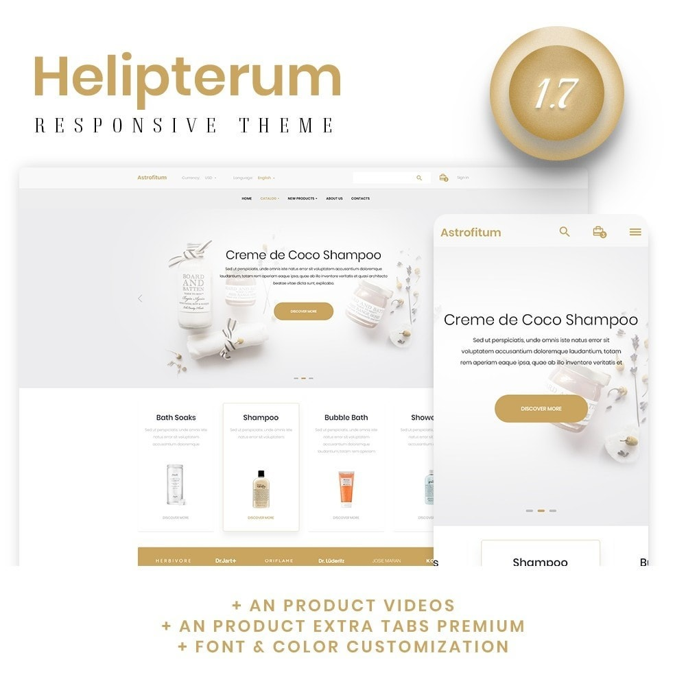 theme - Health & Beauty - Astrofitum Cosmetics - 1