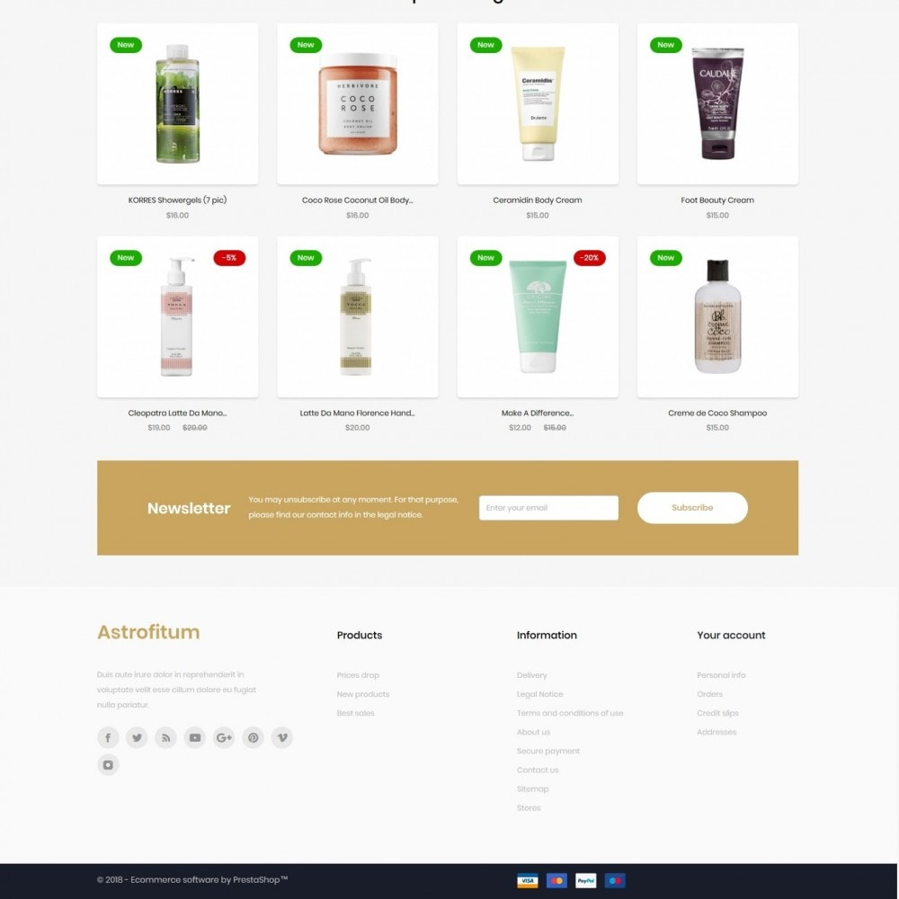 theme - Gesundheit & Schönheit - Astrofitum Cosmetics - 4