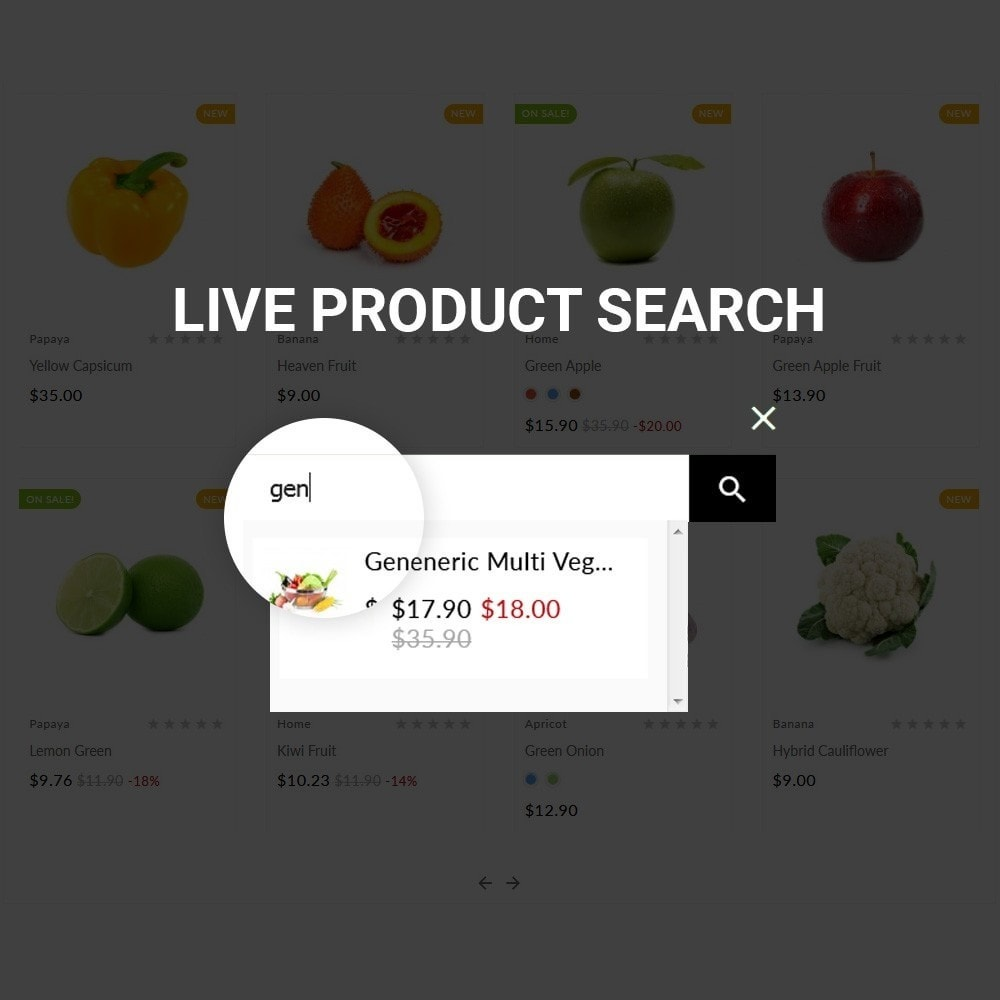 theme - Lebensmittel & Restaurants - The Organic Shop - 8