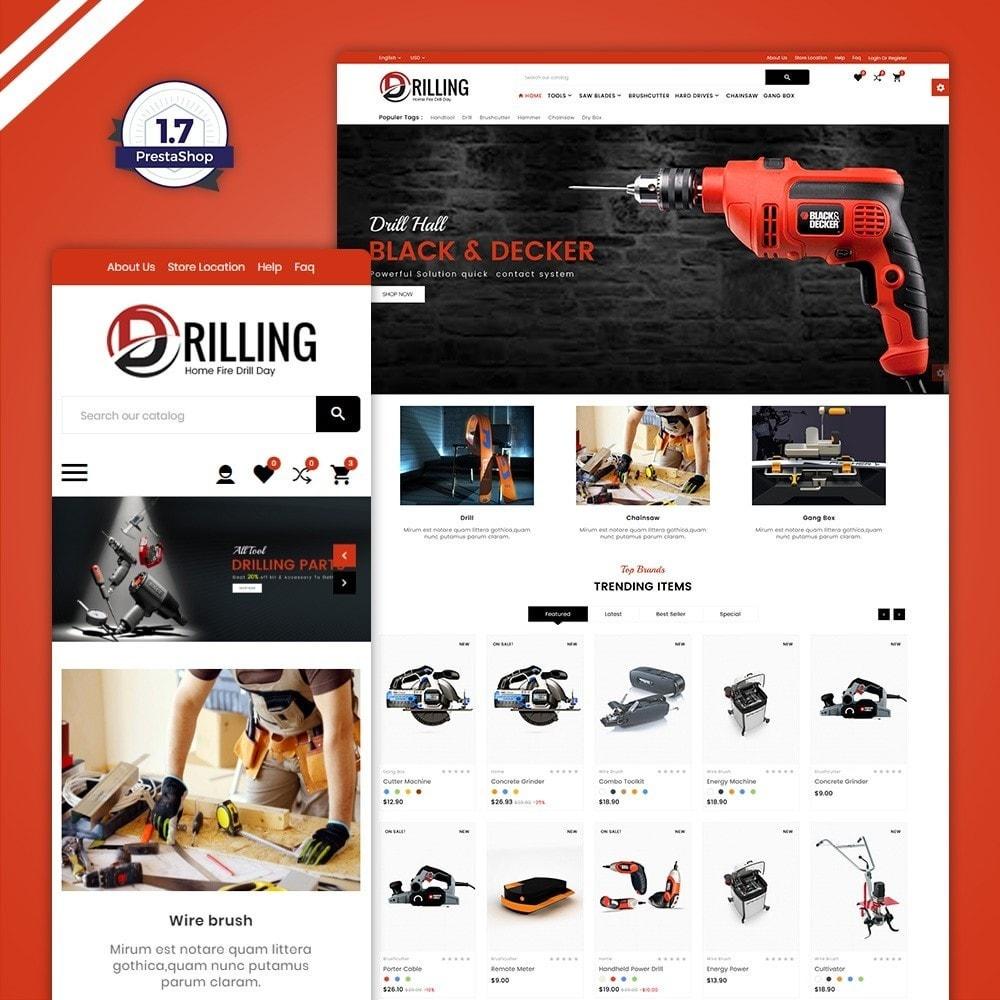 theme - Automotive & Cars - Drilling –Tools Mega Shop - 1