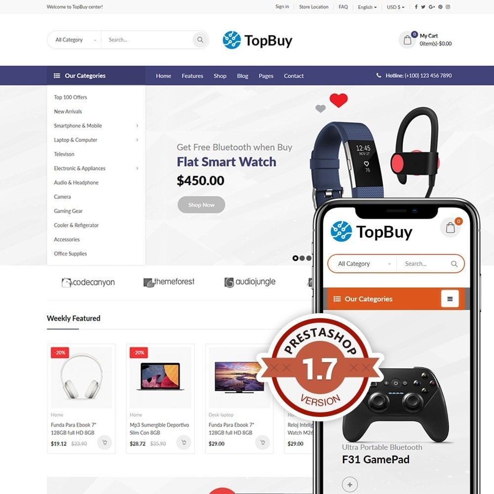 theme - Electronics & Computers - TopBuy - 1