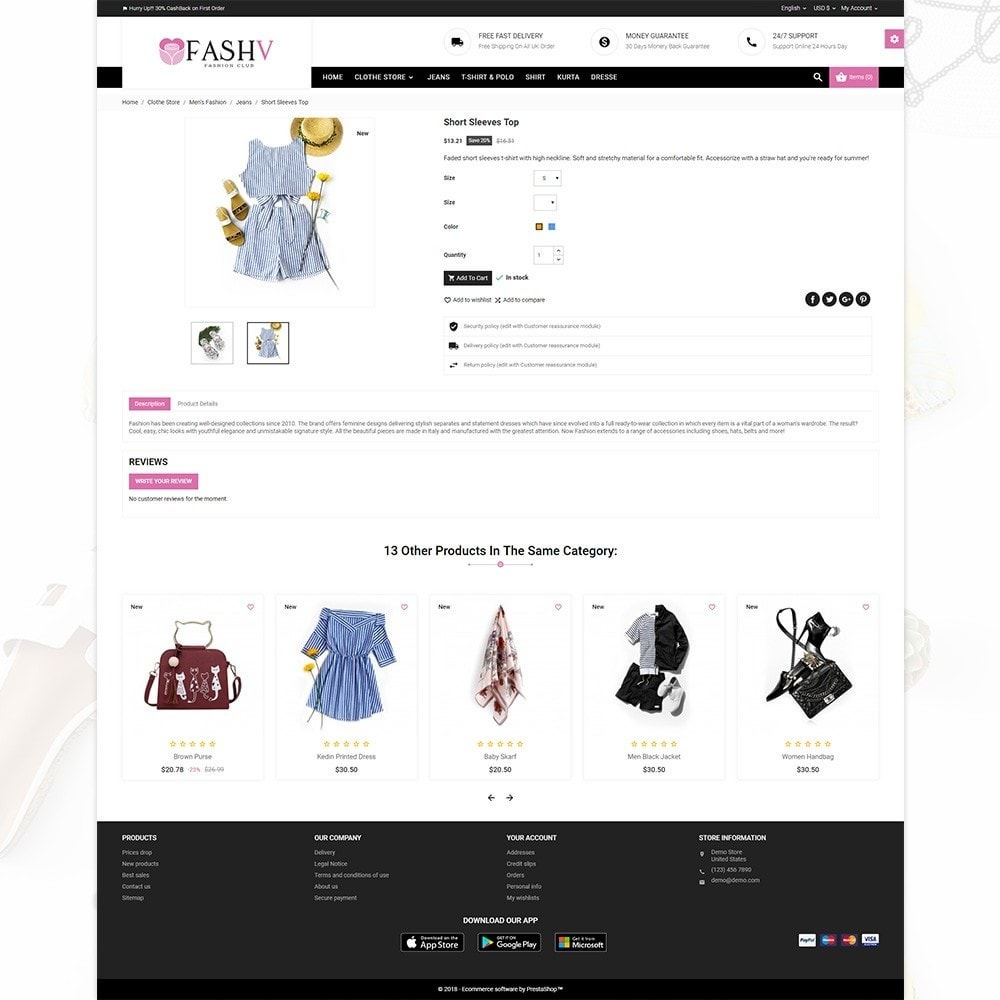 theme - Moda & Calçados - FashV – Fashion Stylish Super Store - 4