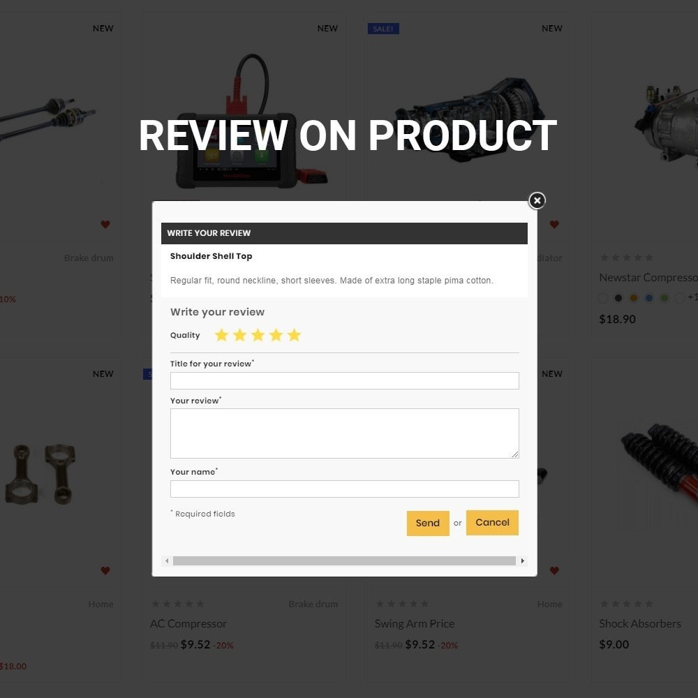 theme - Automotive & Cars - Auto Kart – Tools and Car Accessories Store - 9