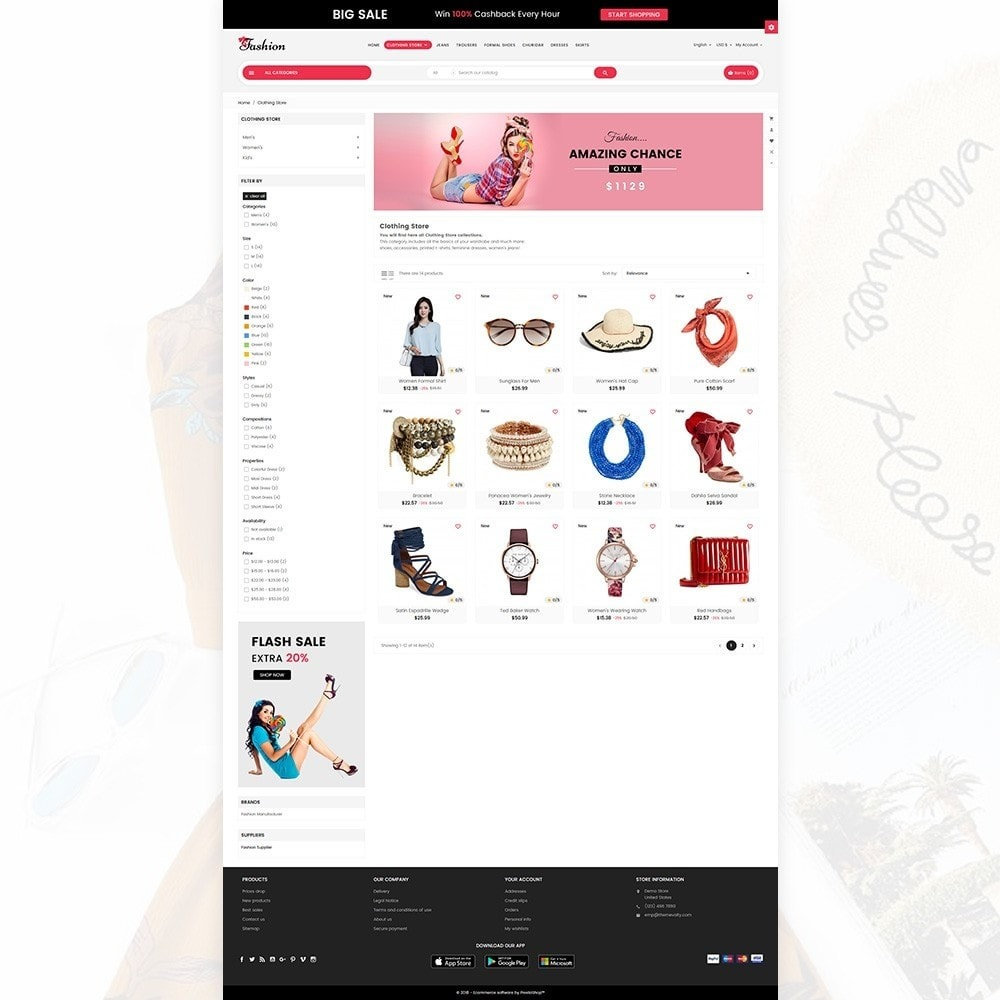 theme - Fashion & Shoes - Stylish Fashion Cloth Multi purpose Store - 4