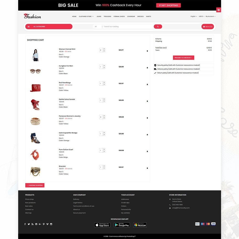 theme - Fashion & Shoes - Stylish Cloth Multi purpose Store - 5