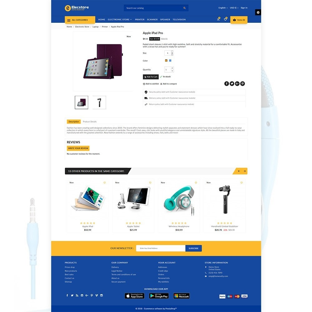 theme - Electronics & Computers - Elec Store – Electronic Multipurpose Store - 4