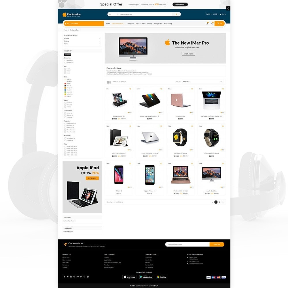 theme - Elektronik & High Tech - Electronica – Electronic Multipurpose Store - 5