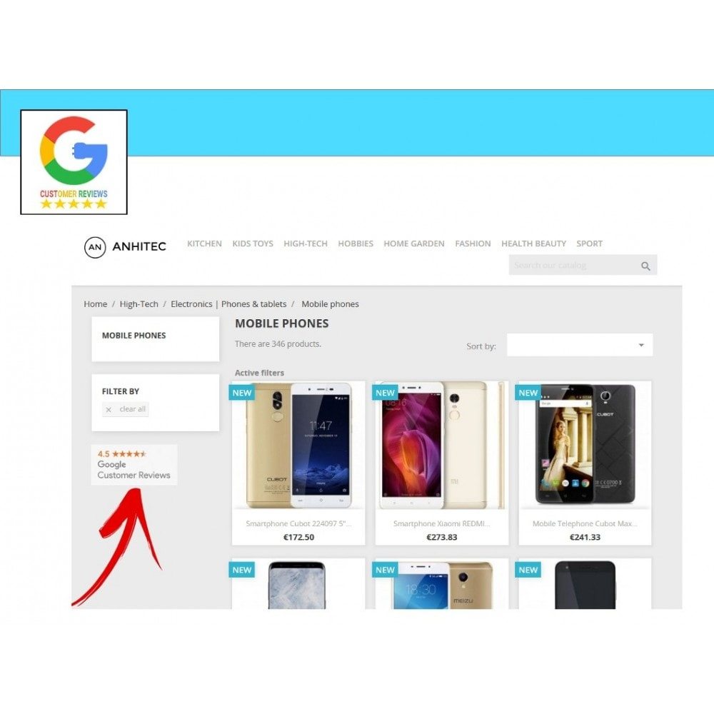 module - Recensioni clienti - Google Customer Reviews - 4