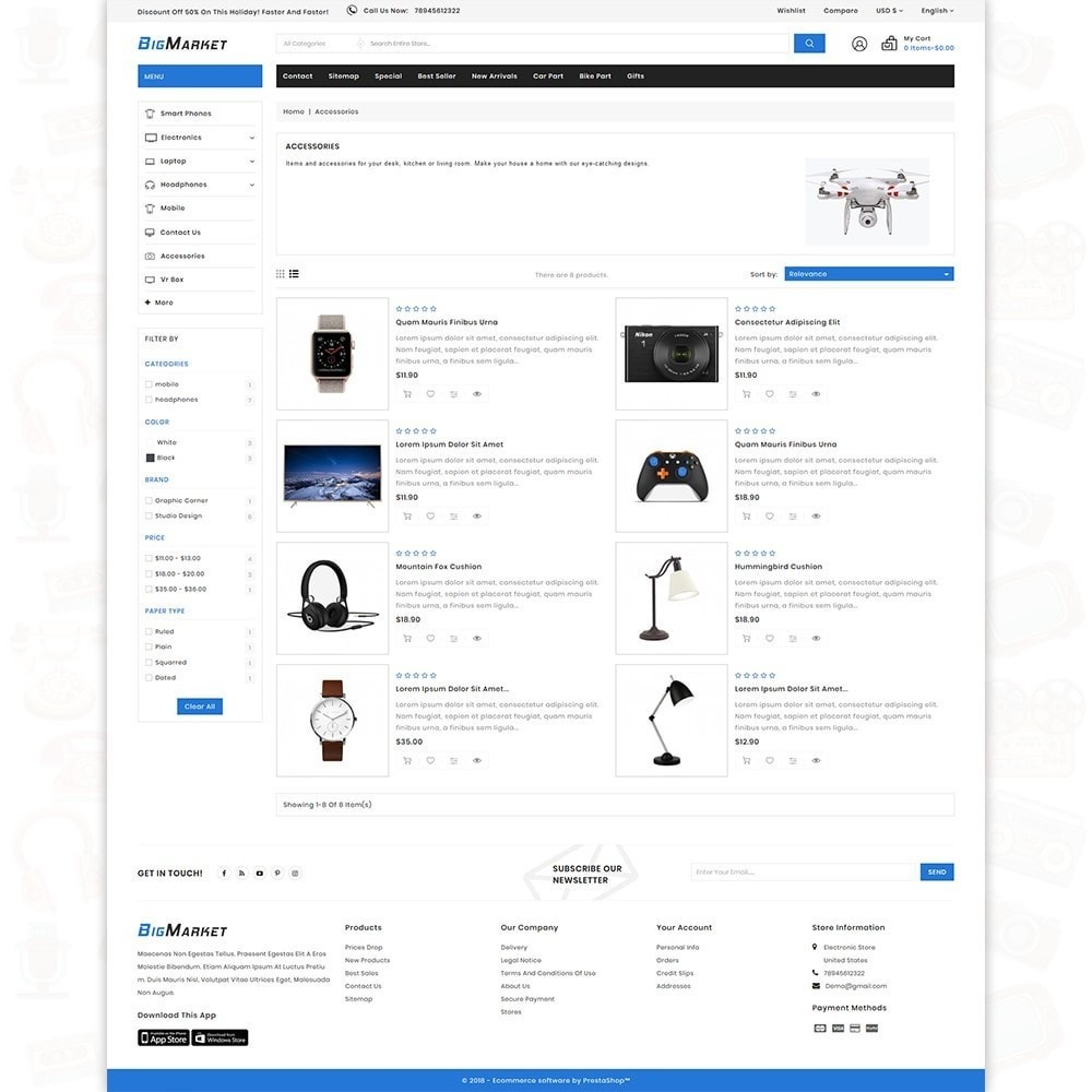 theme - Eletrônicos & High Tech - Big Market - The Mega Ecommerce Store - 4