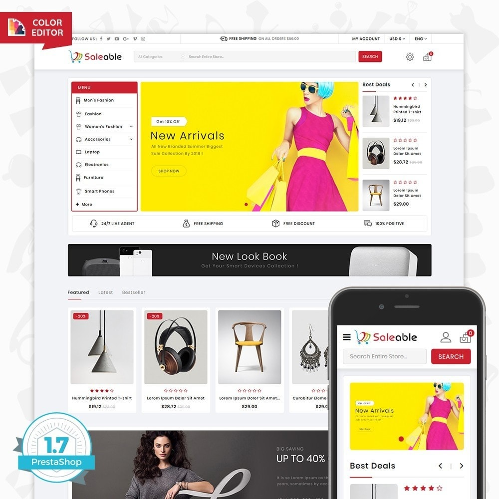 theme - Electronics & Computers - Saleable - Online Shopping Trade - 1