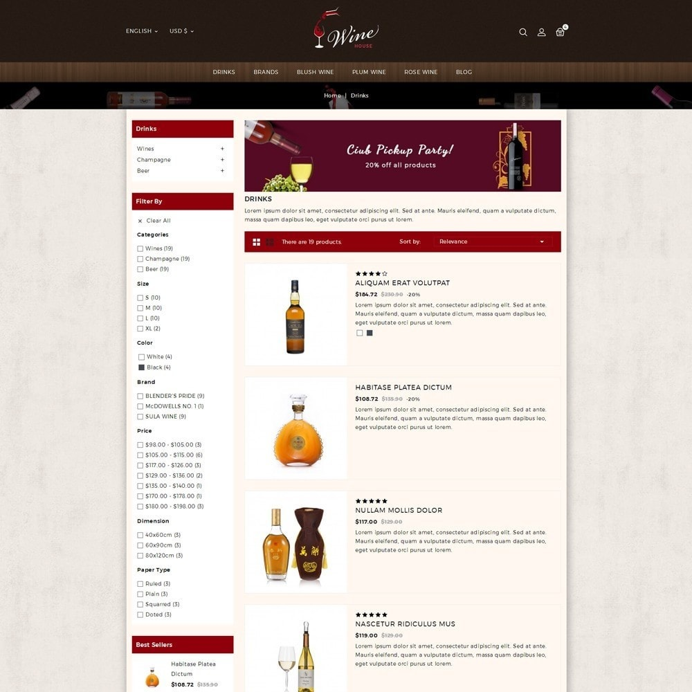 theme - Boissons & Tabac - Wine House Online Store - 4