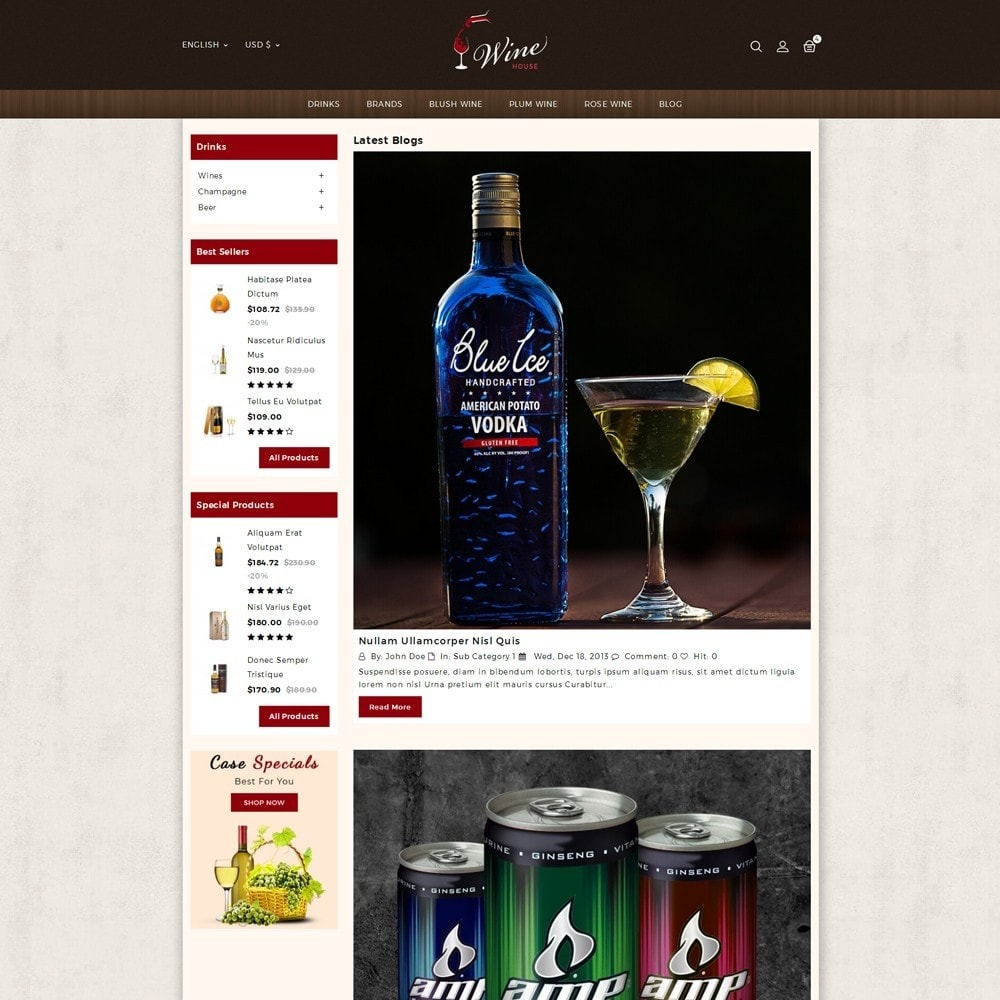 theme - Boissons & Tabac - Wine House Online Store - 5