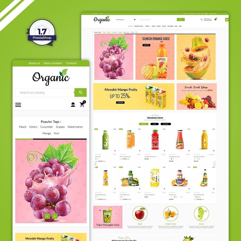 theme - Food & Restaurant - The Organic Store - 1