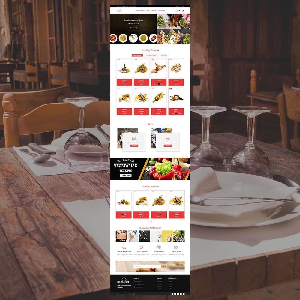 theme - Alimentos & Restaurantes - Loja de Restaurantes - 3