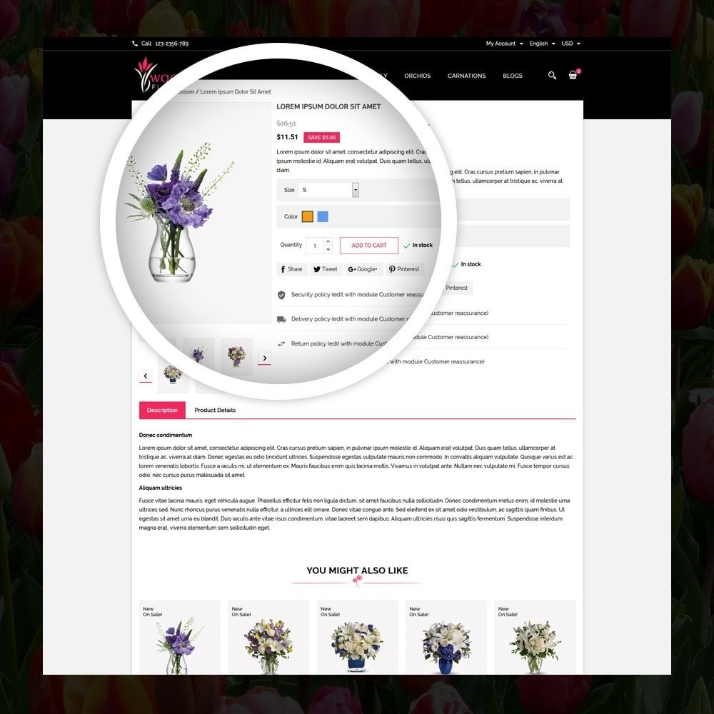 theme - Gifts, Flowers & Celebrations - Woodley - The Flowers Shop - 4