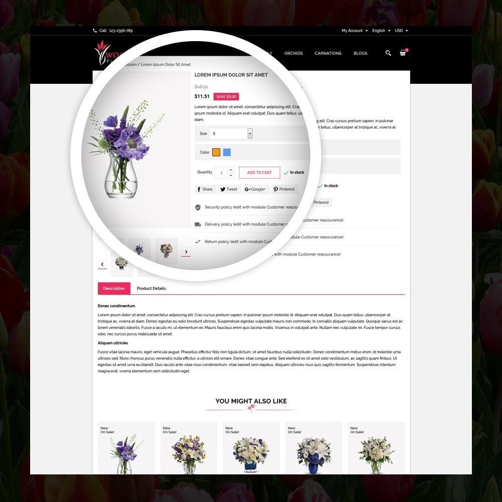 theme - Cadeaux, Fleurs et Fêtes - Woodley - The Flowers Shop - 4