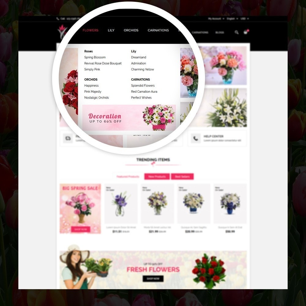 theme - Gifts, Flowers & Celebrations - Woodley - The Flowers Shop - 7