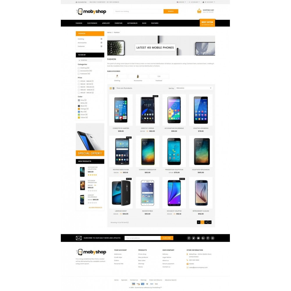 theme - Electronics & Computers - Mobyshop - Online Mobile Store - 3