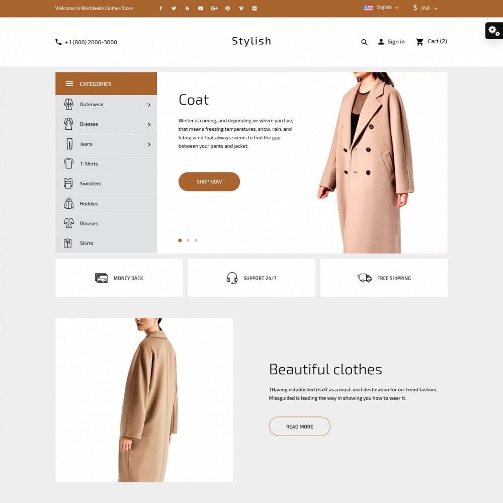 theme - Moda & Calçados - Stylish Fashion Store - 2