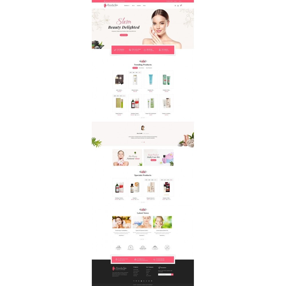 theme - Health & Beauty - Beauty Cosmetics & Spa - 2
