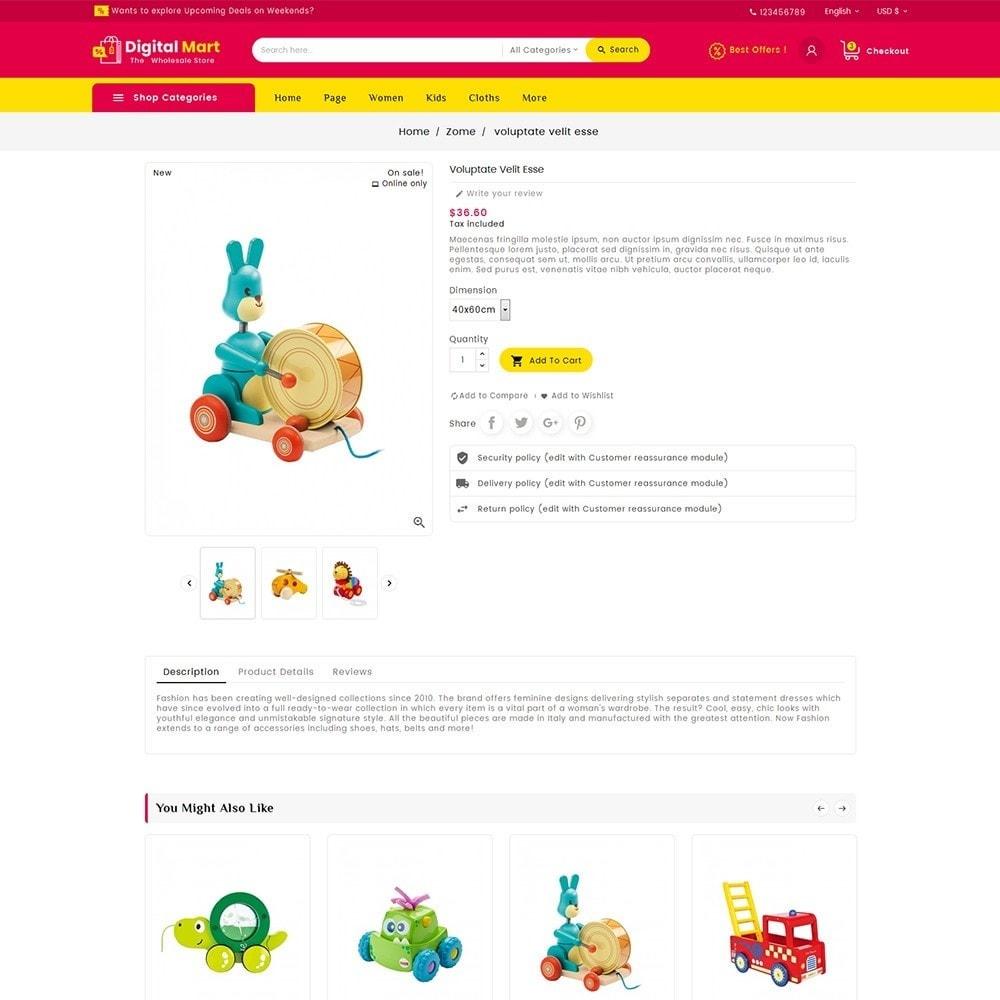 theme - Kinder & Spielzeug - Digital Mart Kids Toys - 7