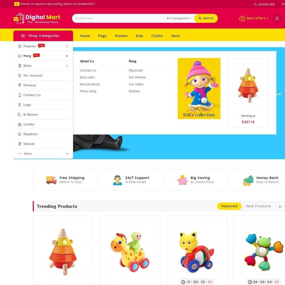 theme - Kinder & Spielzeug - Digital Mart Kids Toys - 11