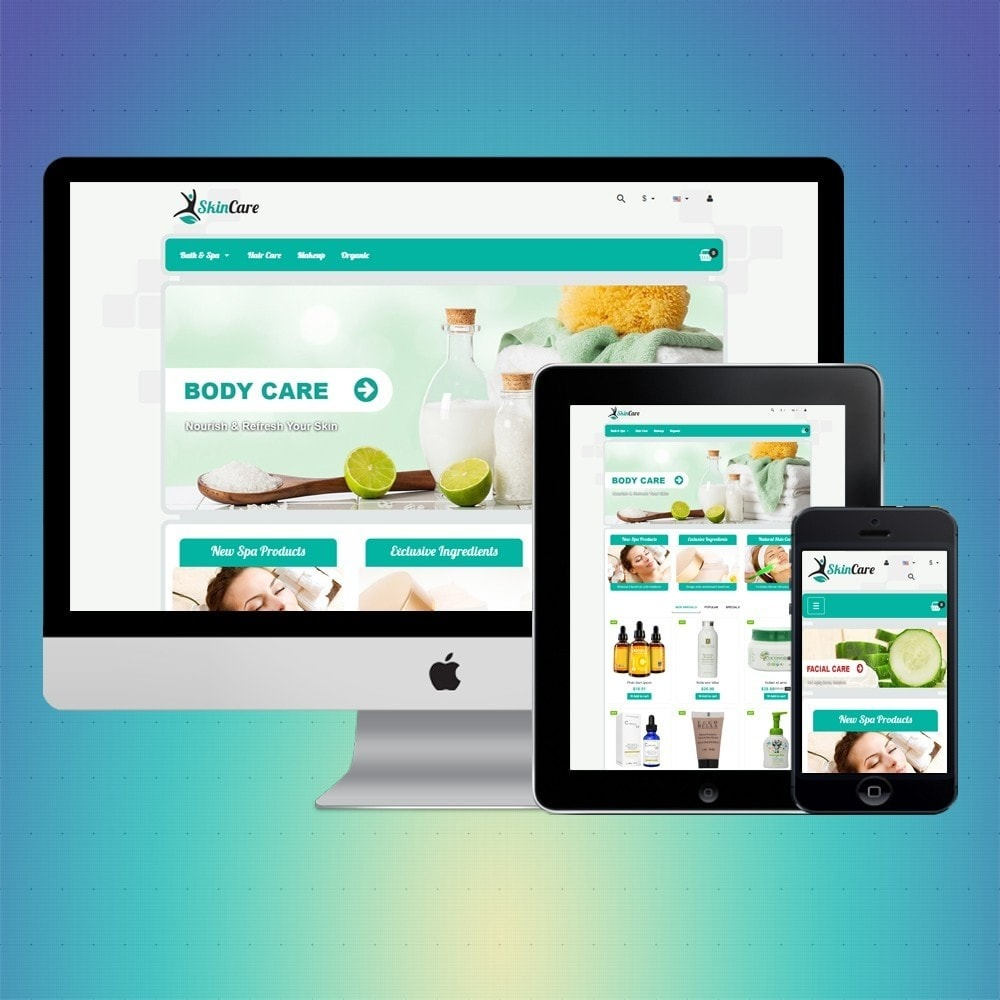 theme - Health & Beauty - VP_SkinCare Store - 1