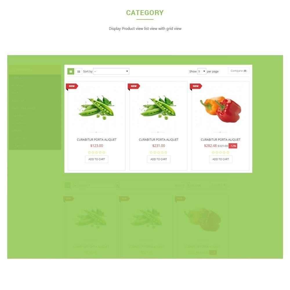 theme - Lebensmittel & Restaurants - Leo Fresh Store - Lebensmittel, Gemüse, Frischmarkt - 4
