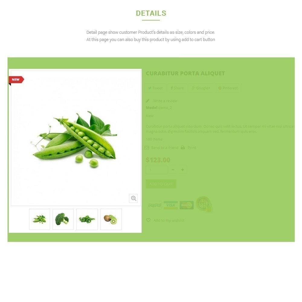 theme - Lebensmittel & Restaurants - Leo Fresh Store - Lebensmittel, Gemüse, Frischmarkt - 5