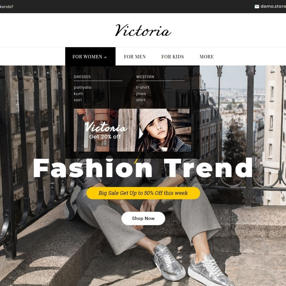 theme - Fashion & Shoes - Victoria Fashion Apparels - 11