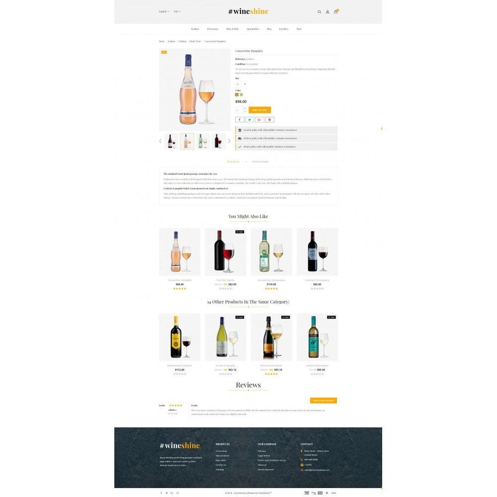 theme - Boissons & Tabac - Wine Shine Store - 5