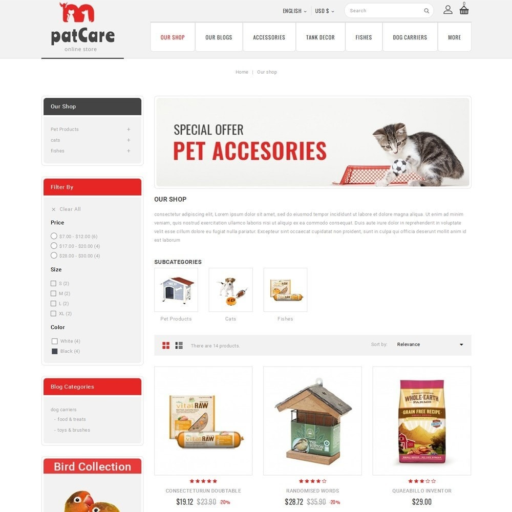 theme - Animais - Patcare - The Animal Store - 4