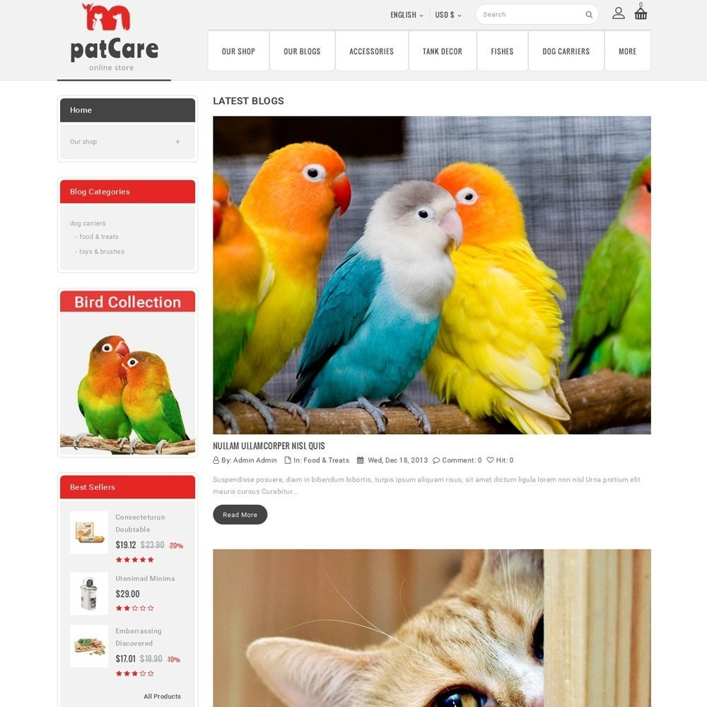 theme - Animais - Patcare - The Animal Store - 7