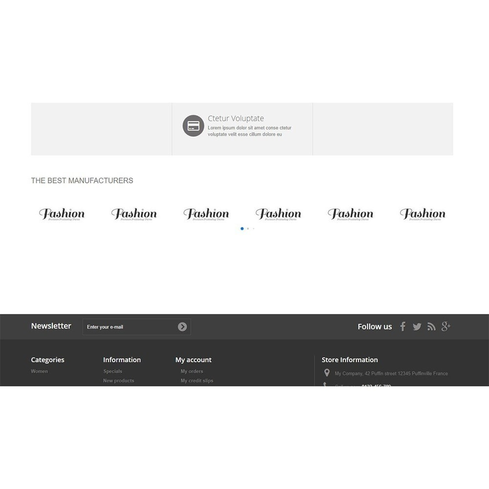 module - Marques & Fabricants - Manufacturers section with grid or slider style - 4