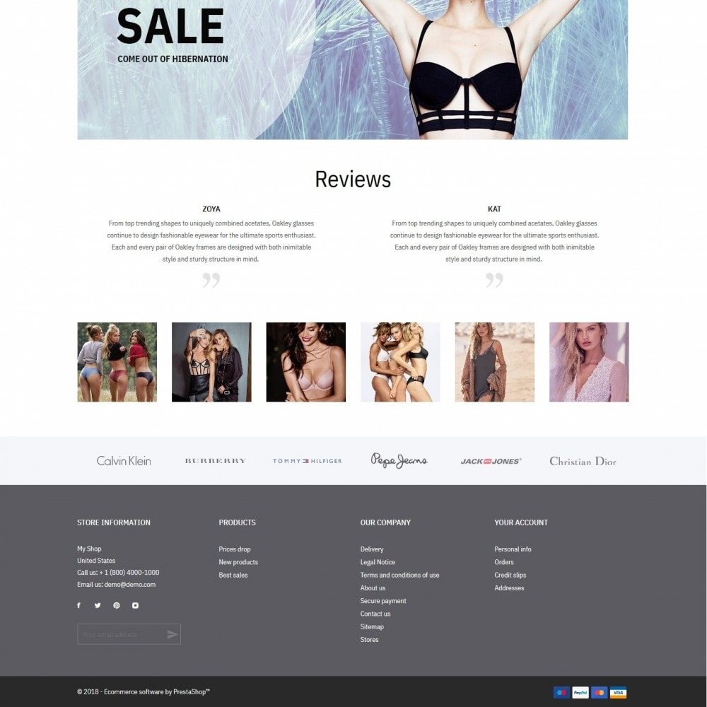 theme - Lingerie & Adult - Little secret - Lingerie Shop - 4