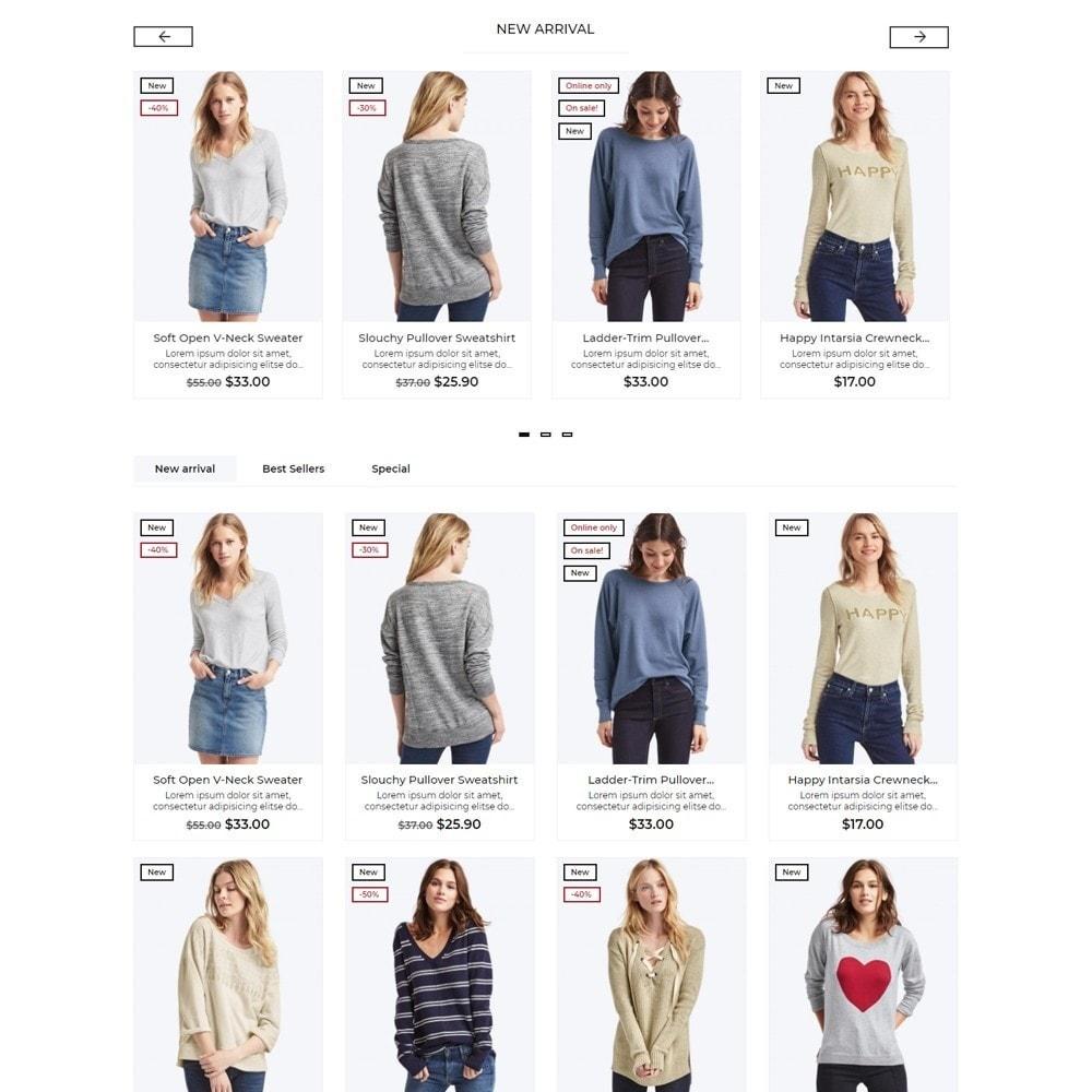 theme - Moda & Calçados - Madelaine Fashion Store - 3