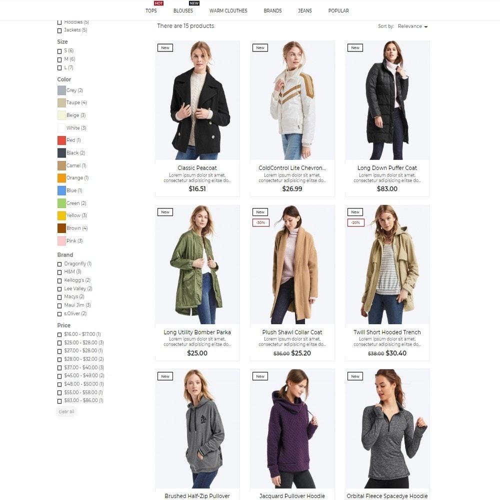 theme - Moda & Calçados - Madelaine Fashion Store - 5