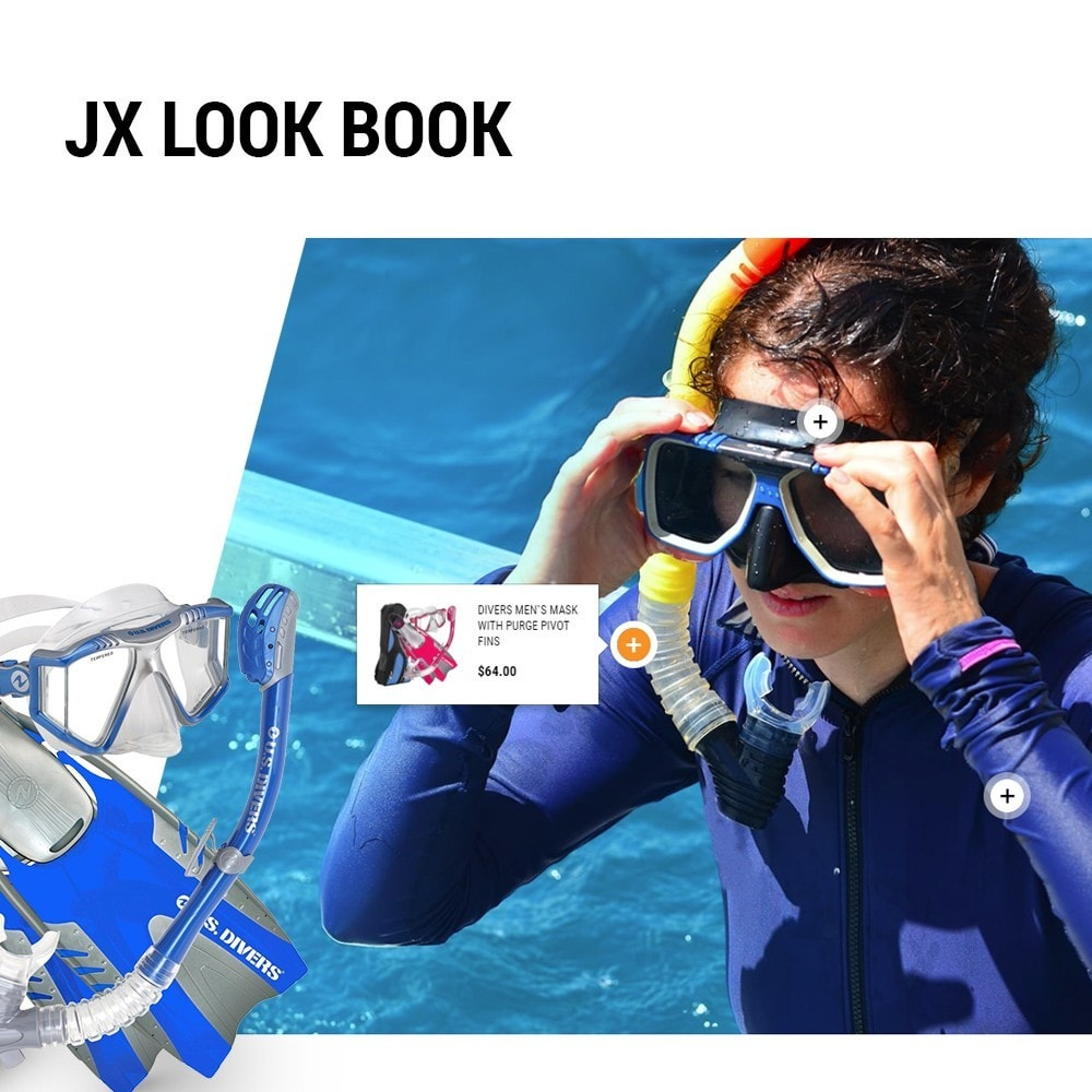 theme - Sport, Loisirs & Voyage - DiveDeep - Snorkeling Equipment - 6