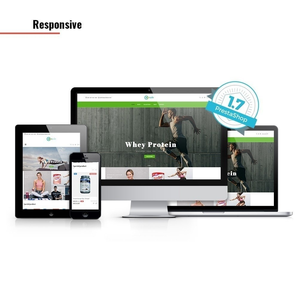 theme - Sport, Aktivitäten & Reise - Ap Konsole - Sport & Fitnessstudio - 2
