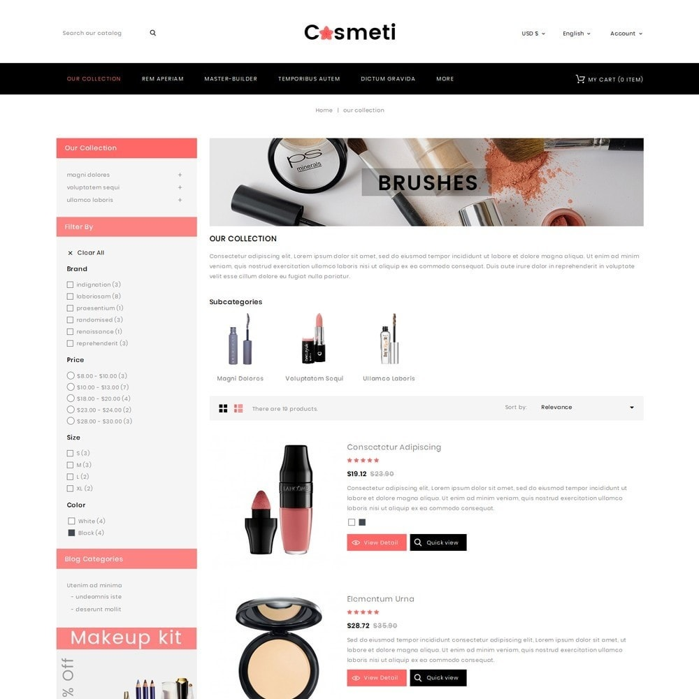 theme - Mode & Chaussures - Cosmeti - The Beauty Shop - 5