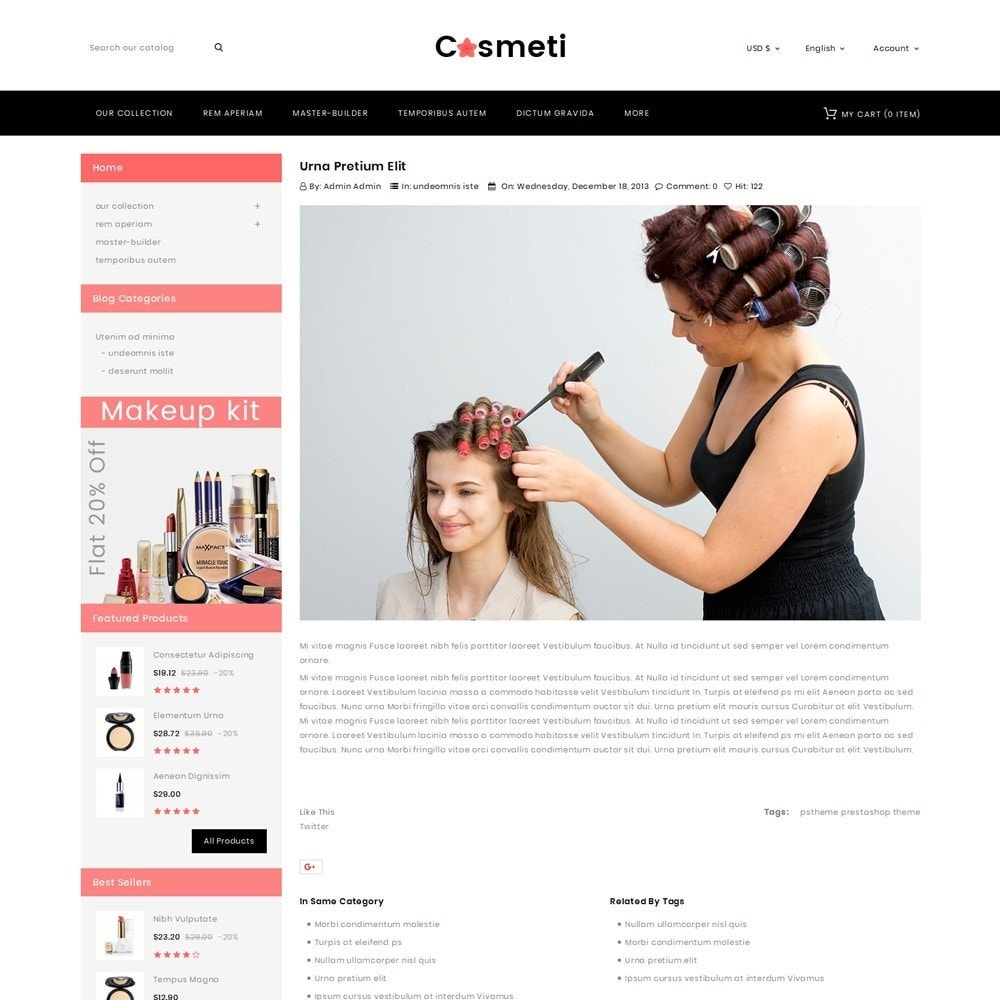 theme - Mode & Chaussures - Cosmeti - The Beauty Shop - 7