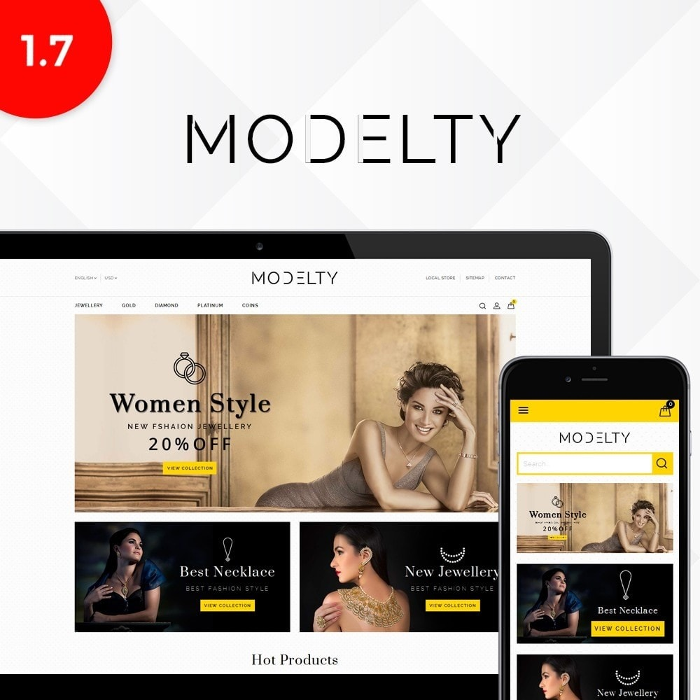 theme - Joalheria & Acessórios - Modelty Jewellery Store - 1
