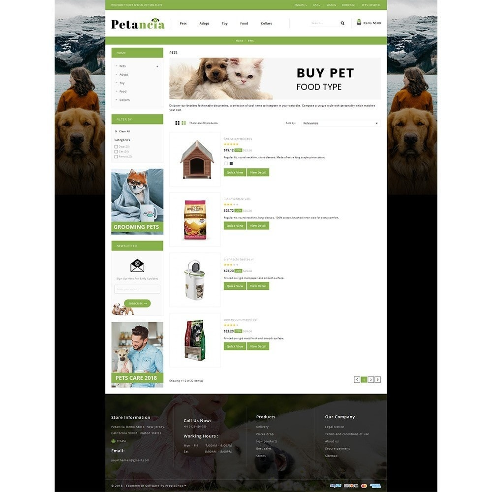 theme - Animals & Pets - Petancia Srore - 4