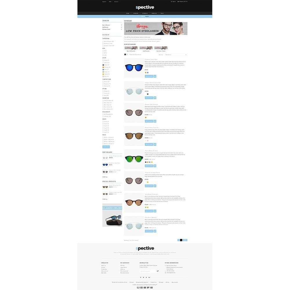 theme - Fashion & Shoes - Spective Demo Store - 4