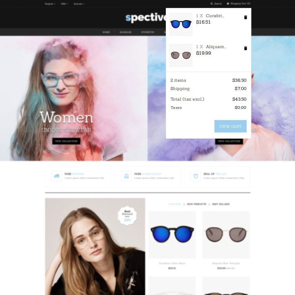 theme - Fashion & Shoes - Spective Demo Store - 6